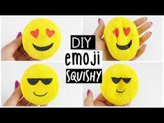 DIY Emoji Squishy - Make your own Squishy from Scratch! - YouTube