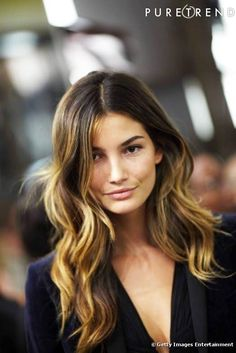 My current hair muse - Lily Aldridge