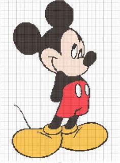 Diy Crafts - Stitch Fiddle is an online crochet, knitting and cross stitch pattern maker. Cross Stitch Pattern Maker, Disney Cross Stitch Patterns, Cross Stitch Charts, Cross Stitch Designs, Modern Cross Stitch Patterns, Cross Stitch Silhouette, Mickey Silhouette, Cross Stitch Alphabet, Cross Stitch Animals