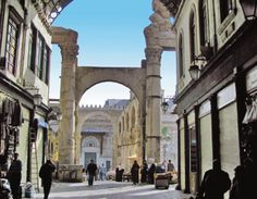 The Damascus Souk, one of the most amazing shopping experiences in life.