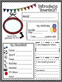 Back to School Printables! 3 First Week Activities Back to School Printables! 3 First Week Activities The post Back to School Printables! 3 First Week Activities appeared first on School Diy. Back To School Night, 1st Day Of School, Beginning Of The School Year, Summer School, Middle School, School Week, High School, School Starts, School 2017