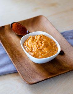 Smoked Paprika Aioli | DIVERSE DINNERS Raw Garlic, Fresh Garlic, Shrimp Sandwich, Crab Cakes, Aioli, Smoked Paprika, Fish Dishes, The Dish, Food Items