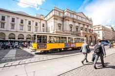 The ATM Class 1500 is a series of tram vehicles used from 1927 year by the ATM in Milan ©RossHelen / Shutterstock