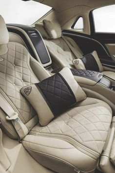 Mercedes-Maybach, I want these seats in my living room
