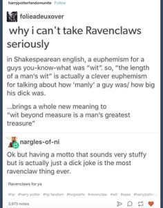 19 Times Tumblr Nailed What It Was Like To Be In Ravenclaw
