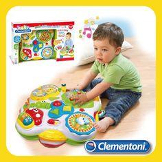 Tavolo del Bosco Parlante: Un fantasioso tavolino che insieme agli amici del bosco insegnerà a vostro figlio lettere, numeri, forme, colori e tante nuova parole. #giocattoli #giochi #interattivi per la #primainfanzia by #clementoni #clementonibaby #babyclementoni #giochibambini #toys #baby #babytoys
