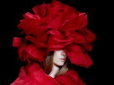 LFW| John Rocha Aw14 fashion week, catwalk, milinery