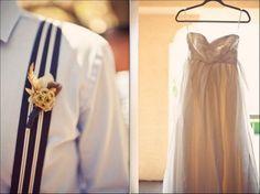 Rustic Vintage Wedding Gown