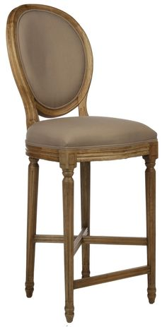 Pascale French Provincial Bar Stool
