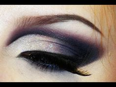 Sultry sexy dramatic cut crease makeup look / Bridezilla make-up tutorial / Gothic dark
