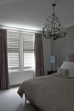 slaapkamer luxaflex gordijnen