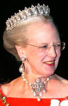 Queen Margrethe tiaras | Queen Margrethe II of Denmark