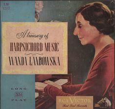 A Treasury of Harpsichord Music, Wanda Landowska, RCA Victor Red Seal