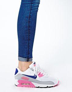 Изображение 3 из Розово-серые кроссовки Nike Air Max 90 Essential