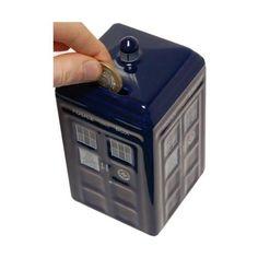 TARDIS money bank... ¡TARDIS everything!
