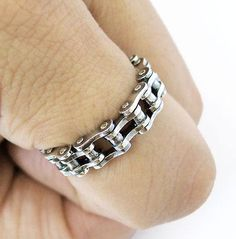 Chain Ring Into chains Into Bikers/Bikes This Ring is by PureTNT, $40.00