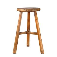 A handcrafted and hand-finished stool, this rustic, country-style seat makes the perfect addition to the modern home. Whether for your bedroom or as a spare, this chair will be a distinct look to help give a rustic flair to your home setup.