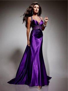 Twitter Satin Dresses, Sexy Dresses, Prom Dresses, Purple Outfits, Purple Dress, Silk Evening Gown, Evening Dresses, Stunning Dresses, Pretty Dresses