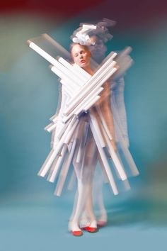 Resultado de imagen de vestidos de papel