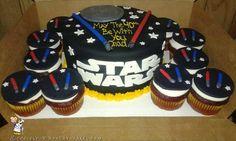 40th Birthday Star Wars Cake... Coolest Birthday Cake Ideas