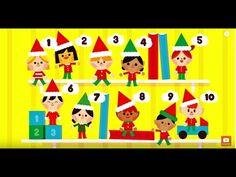 10 Elves on the Shelf song for Christmas! Great fun for Preschool and Kindergarten. Christmas Songs For Kids, Christmas Concert, Childrens Christmas, Preschool Christmas, Christmas Music, Christmas Activities, Christmas Elf, Christmas Videos, Preschool Songs