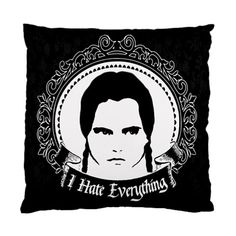 Wednesday Pillow Cushion Case from Lttle Shop Of Horrors