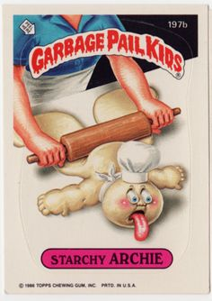 Garbage Pail Kids - Starchy Archie
