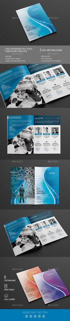 Creative Brochure Designs  Touchey Design Magazine  Ideas And