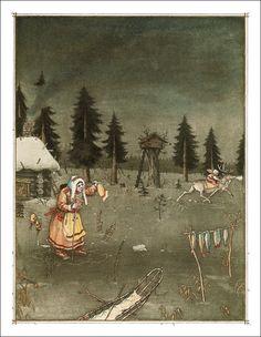 Boris Diodorov, Illustration for the Snow Queen