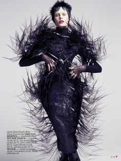 EXCLUSIVE INTERVIEW WITH IRIS VAN HERPEN, THE COUTURIER OF THE FUTURE. | Tokyo Fashion Diaries