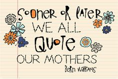 Adorable quote and fonts!