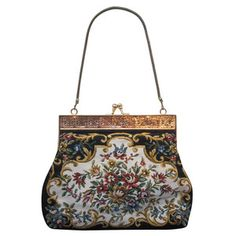 Delill Tapestry Purse Floral, 235€, now featured on Fab.