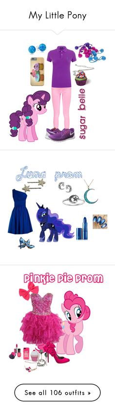 """""""My Little Pony"""" by laurenspanda ❤ liked on Polyvore featuring мода, Boohoo, Polo Ralph Lauren, NIKE, Gimme Clips, Bling Jewelry, cupcake, MLP, MyLittlePony и SugarBelle"""