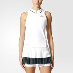 Barricade Tank Top I Adidas by Stella McCartney Tennis Wear, Tennis Shoes Outfit, Tennis Dress, Tennis Clothes, Stella Mccartney Dresses, Stella Mccartney Adidas, Mens Golf Fashion, Adidas Barricade, Sport Wear