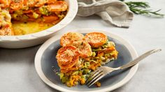 Baked Leek and Sweet Potato Gratin . Sautéed leeks add a milder, sweeter flavor than onions to this hearty sweet potato dish that can be served with a salad as a light main course.