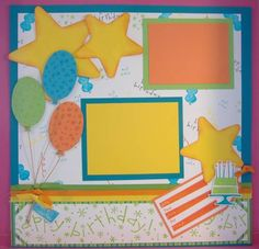Eat Cake by tayransom - Cards and Paper Crafts at Splitcoaststampers Birthday Scrapbook Layouts, Beach Scrapbook Layouts, Scrapbook Images, Scrapbook Templates, Scrapbook Designs, Scrapbooking Layouts, Baby Girl Scrapbook, Love Scrapbook, Album Scrapbook