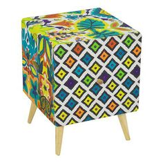 Fantasy Bedside Table with Drawer