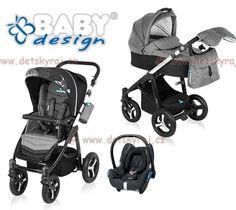 Baby Design Husky + autosedačka Maxi-Cosi Cabriofix s adaptérem   www.detskyraj.cz, s.r.o.