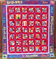 Crumb Quilt | FaveQuilts.com by Bonnie Hunter-Crumb piecing is one of those things that is as individual as every quilter out there. We all have our own way of doing things. There is no one set way to use crumbs. So I am hoping that the ideas you find here will help you in your own path of finding what works for you!