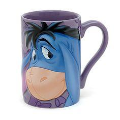 Disney Store Eeyore Latte Mug  Disney Mugs  Glasses  Pinterest
