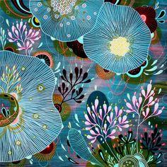I love all of Yellena James' artwork. Beautiful!