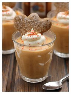 This gingerbread pudding shot is the perfect addition to any holiday party this season!