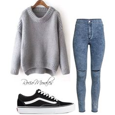 Untitled #301 by rocio06morales on Polyvore featuring polyvore, fashion, style, H