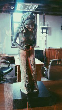 Woman sculpture !!