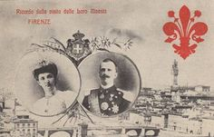 Visite of King Vittorio Emanuele III. and Queen Elena of Italy in Florence by Miss Mertens, via Flickr