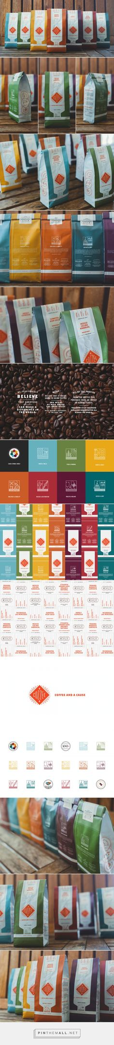 Cozzee Coffee — The Dieline - Branding & Packaging... - a grouped images picture - Pin Them All