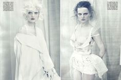 Vogue Italia Celebrates Memorial Day With White Fashion All White Outfit, White Outfits, White Dress, Best Party Dresses, Nice Dresses, Summer Dresses, Paolo Roversi, Silver Color Palette, White Editorial