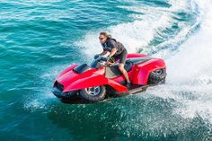 This transforming four wheeler will let you take your ride to the water