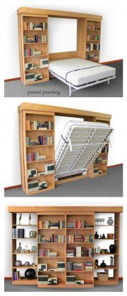 Next Post Previous Post DIY Modern Farmhouse Murphy Bed with Bookcase Bibliothek Murphy Bett Cama Murphy, Murphy Bed Ikea, Murphy Bed Plans, Murphy Bef, Farmhouse Murphy Beds, Modern Farmhouse, Farmhouse Bedrooms, Farmhouse Office, Farmhouse Trim