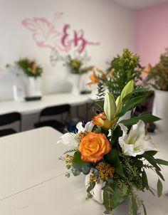 Preparing for our floral arrangement class today Floral Arrangement Classes, Floral Arrangements, Dish Garden, Flower Studio, Funeral, Indoor Plants, Special Events, Orchids, Valentines
